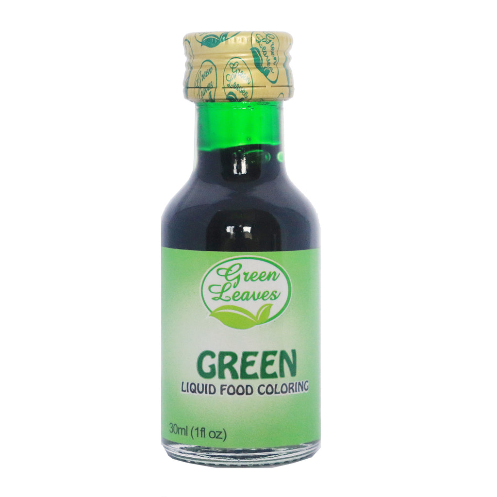 Green Leaves Green Liquid Food Color – JNRM Corporation