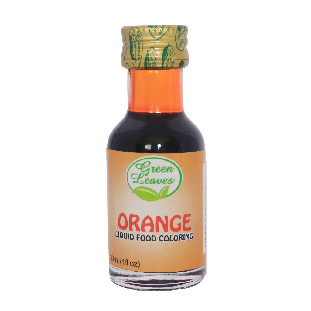 Green Leaves Orange Liquid Food Color 30ml