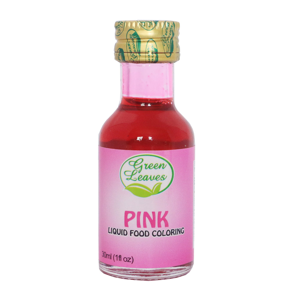 Green Leaves Pink Food Color – JNRM Corporation