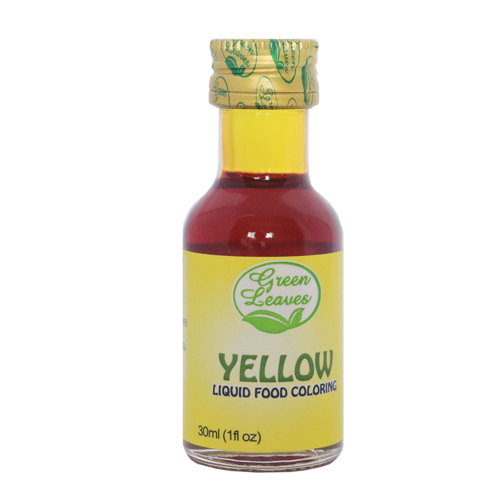 Green Leaves Yellow Liquid Food Color – JNRM Corporation