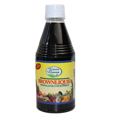 Green Leaves Brown Liquid Food Flavor Concentrate