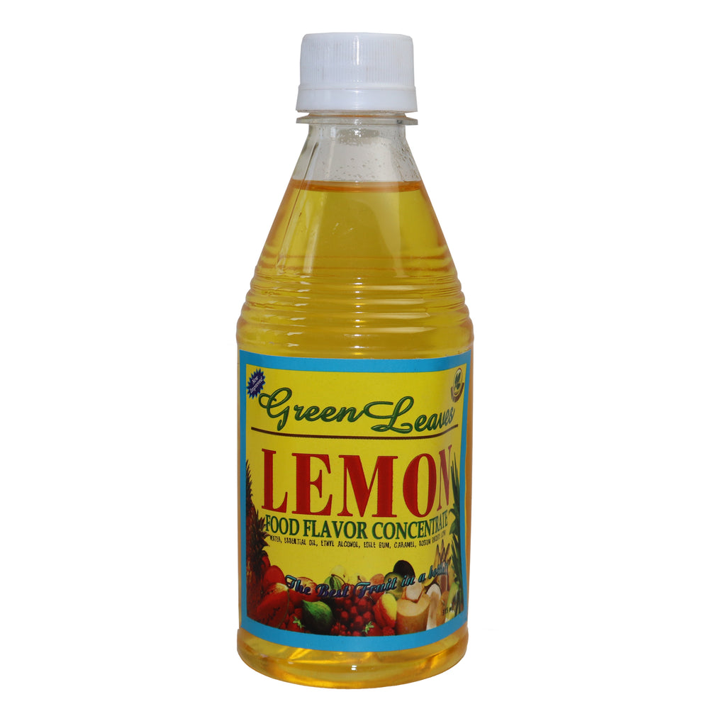 Green Leaves Lemon Food Flavor Concentrate