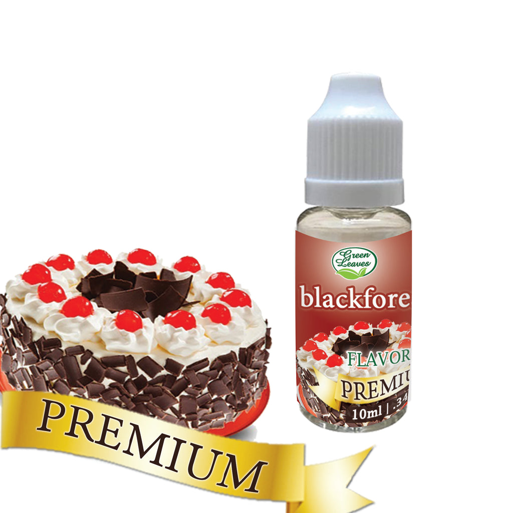 Premium Green Leaves Black Forest Flavor