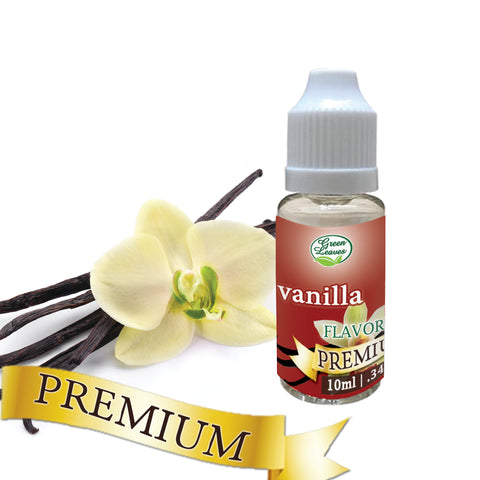 Premium Green Leaves Vanilla Flavor