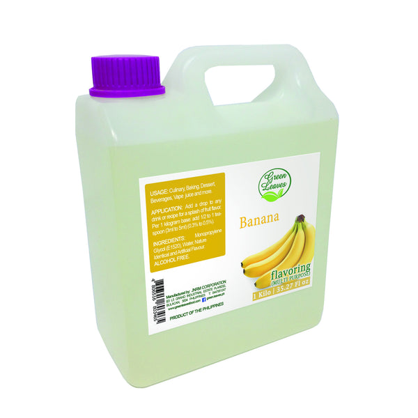 Green Leaves Concentrated Banana Multi-purpose Flavor Essence
