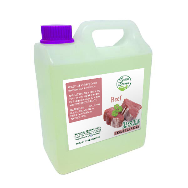 Green Leaves Concentrated Beef Multi-purpose Flavor Essence