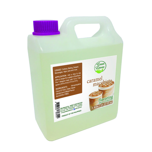 Green Leaves Concentrated Caramel Macchiato Multi-purpose Flavor Essence