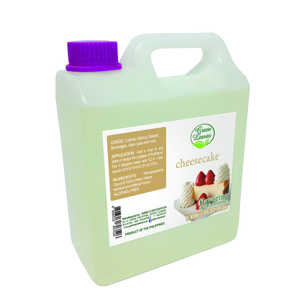 Green Leaves Concentrated Cheesecake Multi-purpose Flavor Essence