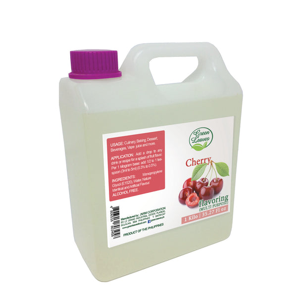 Green Leaves Concentrated Cherry Multi-purpose Flavor Essence