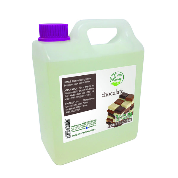 Green Leaves Concentrated Chocolate Multi-purpose Flavor Essence
