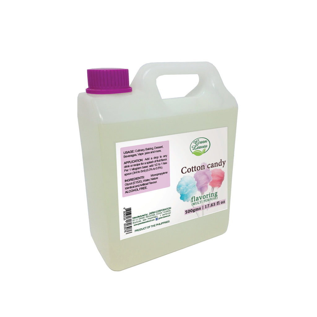 Green Leaves Cotton Candy Multi-purpose Flavor Essence
