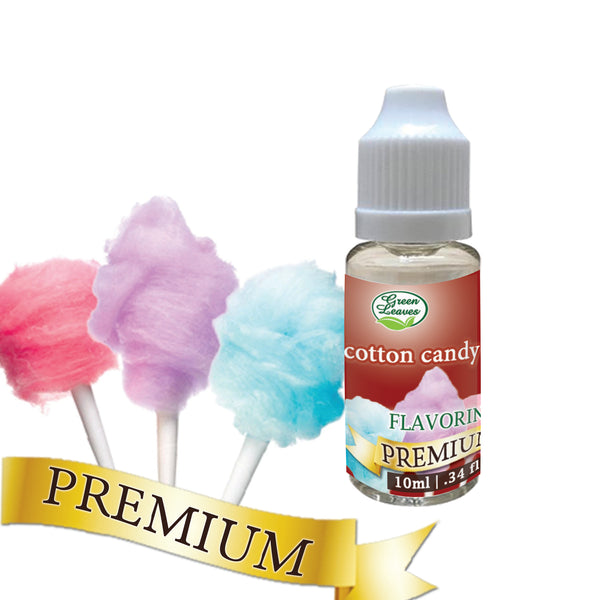 Premium Green Leaves Cotton Candy Flavor