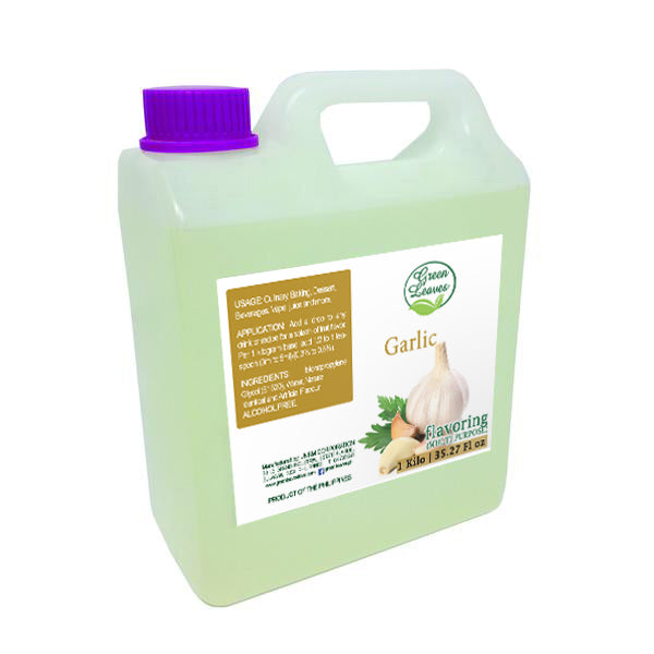 Green Leaves Concentrated Garlic Multi-purpose Flavor Essence