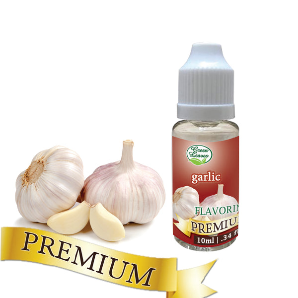 Premium Green Leaves Garlic Flavor