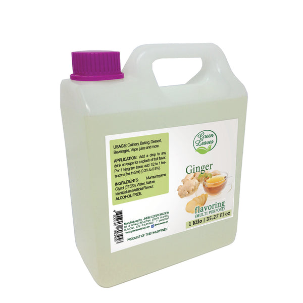 Green Leaves Concentrated Ginger Multi-purpose Flavor Essence