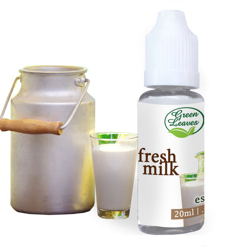 Green Leaves Concentrated Fresh Milk Multi-purpose Flavor Essence