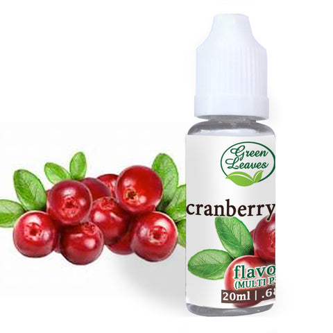 Green Leaves Concentrated Cranberry Multi-purpose Flavor Essence