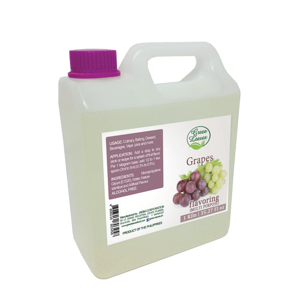 Green Leaves Concentrated Grapes Multi-purpose Flavor Essence