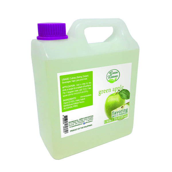 Green Leaves Concentrated Green Apple Multi-purpose Flavor Essence