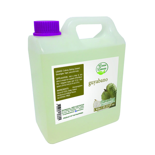 Green Leaves Concentrated Guyabano Multi-purpose Flavor Essence