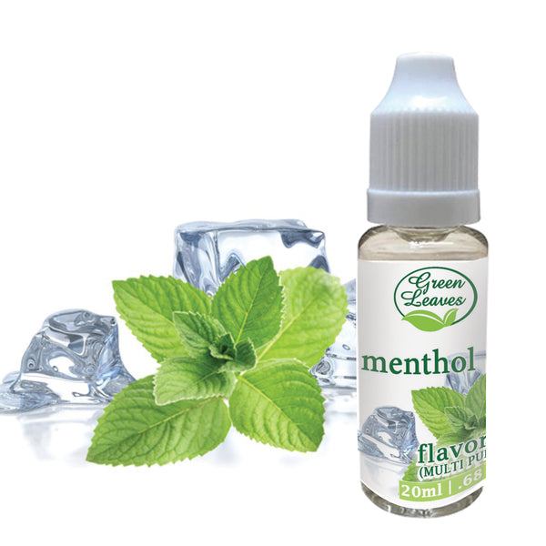 Green Leaves Concentrated Cooling Mint Menthol Multi-purpose Flavor Essence