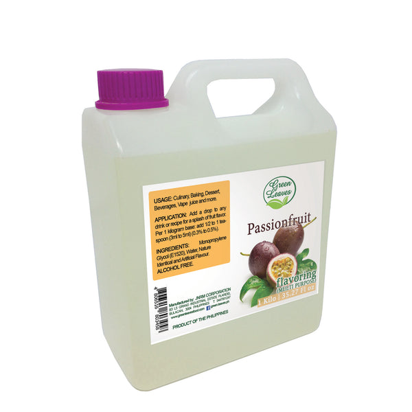 Green Leaves Concentrated Passionfruit Multi-purpose Flavor Essence
