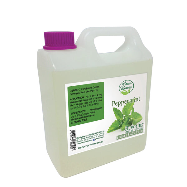 Green Leaves Concentrated Peppermint Multi-purpose Flavor Essence