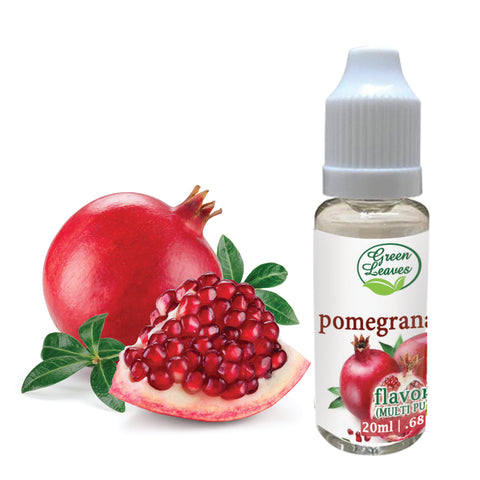 Green Leaves Concentrated Pomegranate Multi-purpose Flavor Essence
