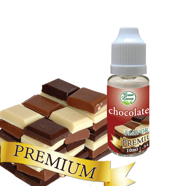 Premium Green Leaves Chocolate Flavor