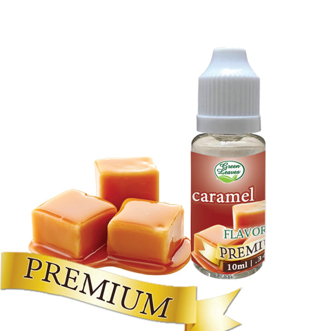 Premium Green Leaves Caramel Flavor