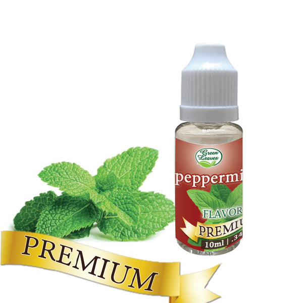Premium Green Leaves Peppermint Flavor
