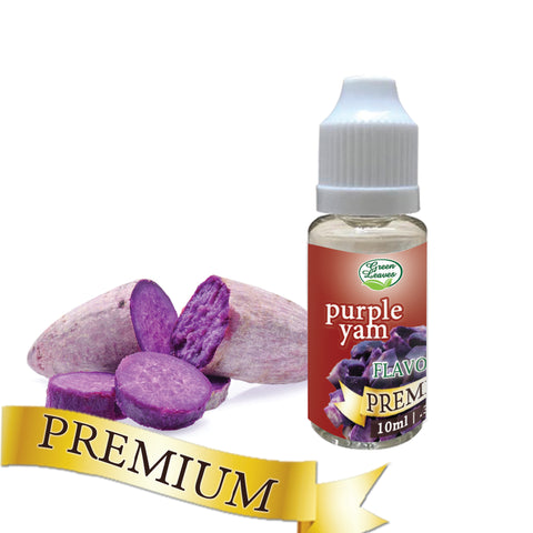 Premium Green Leaves Purple Yam Ube Flavor