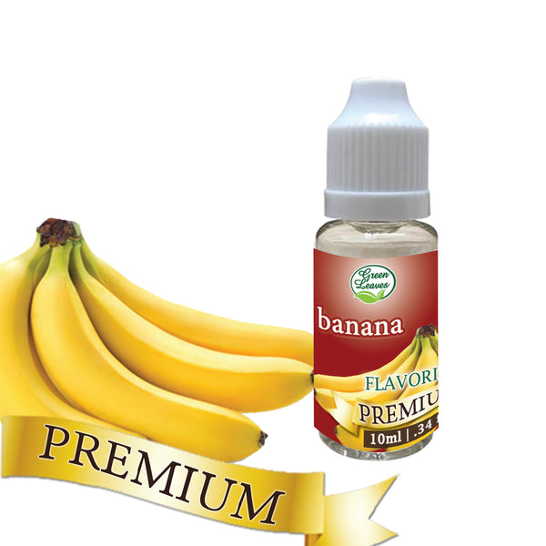 Green Leaves Premium Banana Flavor