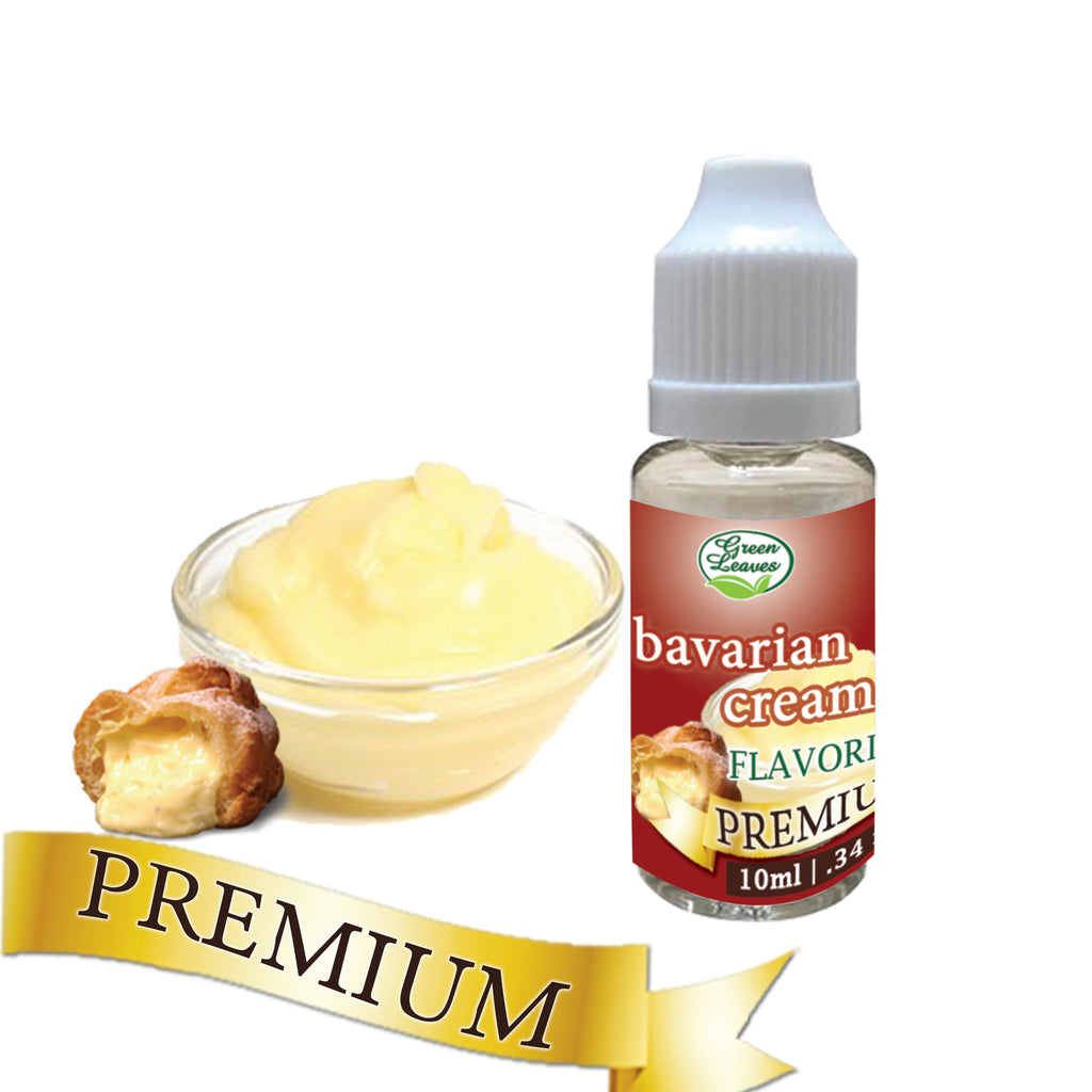 Premium Green Leaves Bavarian Cream Flavor