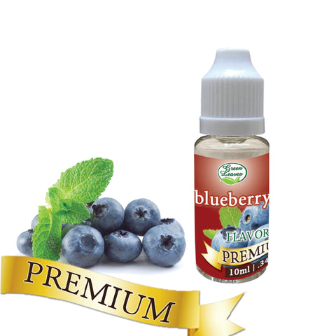 Premium Green Leaves Blueberry Flavor