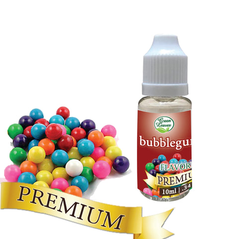 Premium Green Leaves Bubblegum Flavor