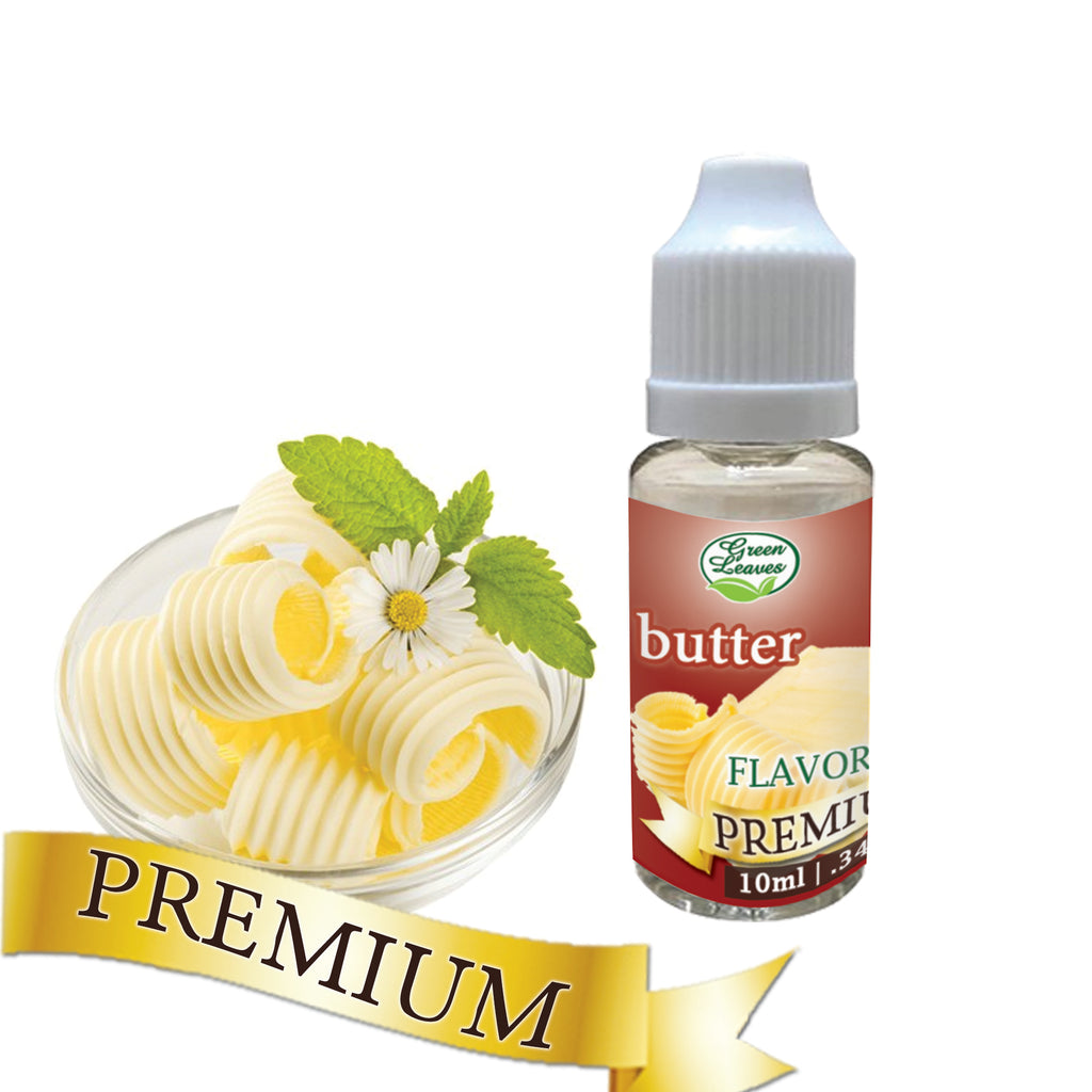 Premium Green Leaves Butter Flavor
