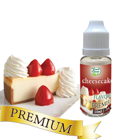 Premium Green Leaves Cheesecake Flavor