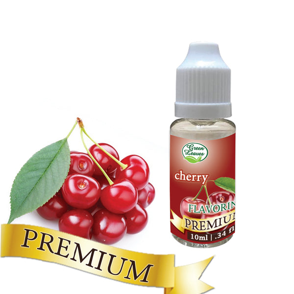 Premium Green Leaves Cherry Flavor