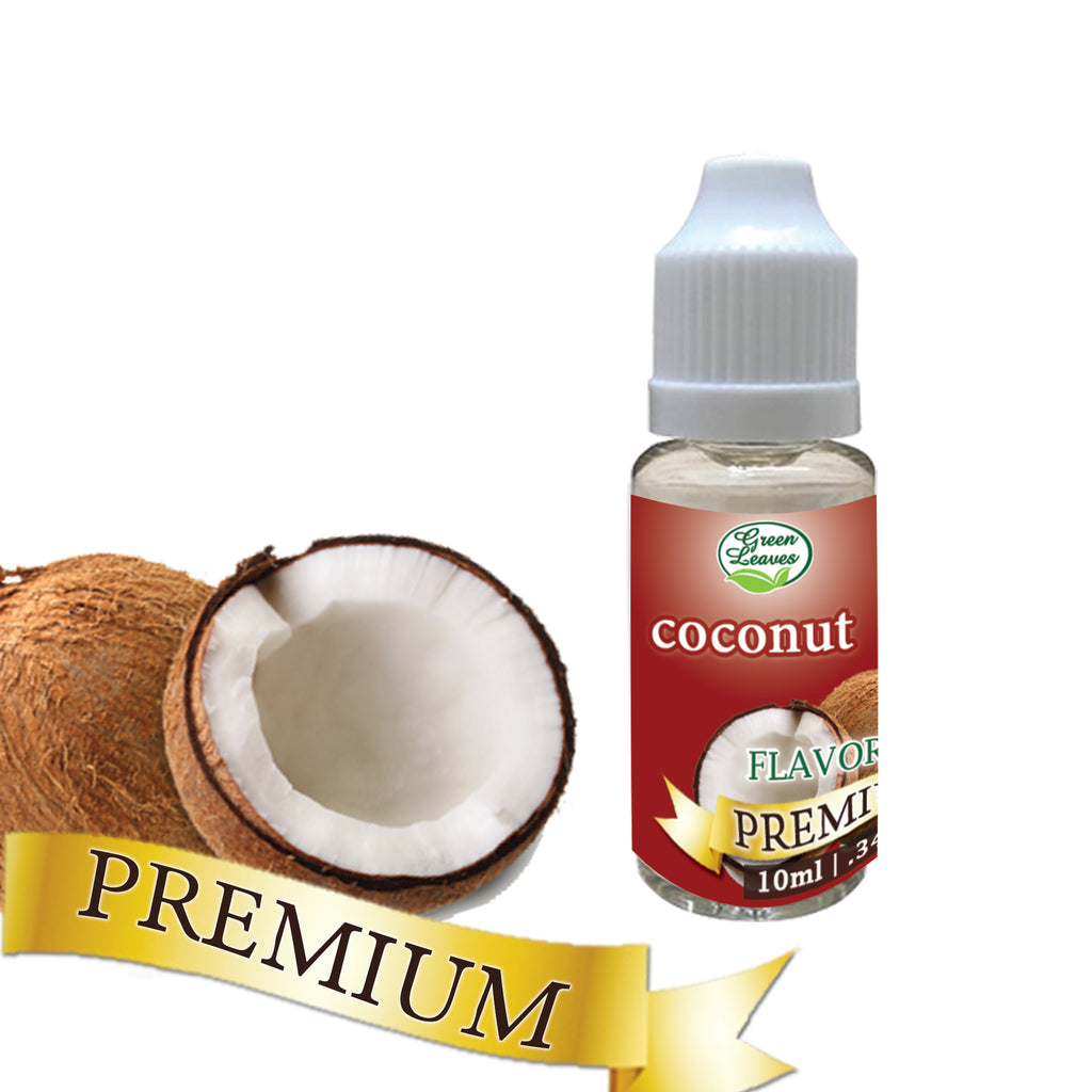 Premium Green Leaves Coconut Flavor