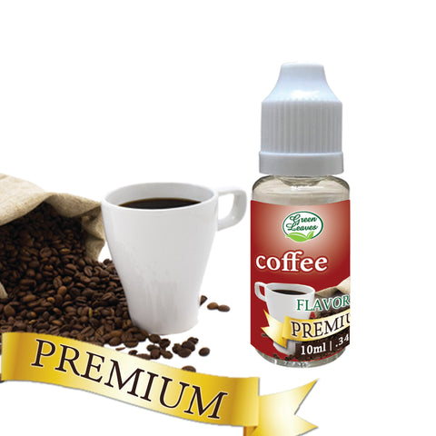 Premium Green Leaves Coffee Flavor