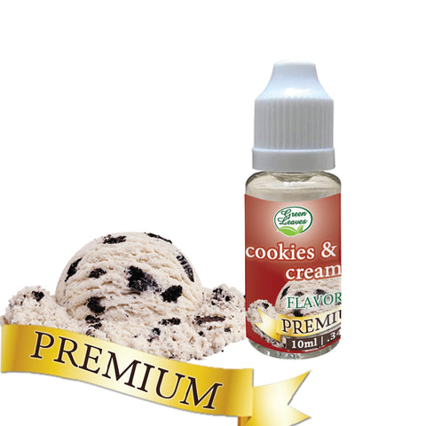 Premium Green Leaves Cookies and Cream Flavor