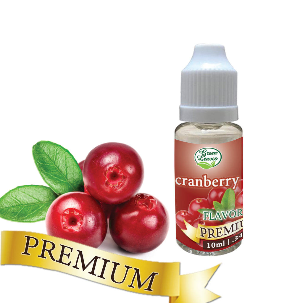 Premium Green Leaves Cranberry Flavor