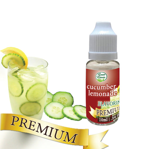 Premium Green Leaves Cucumber Lemonade Flavor