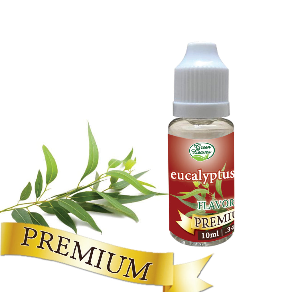 Premium Green Leaves Eucalyptus Flavor