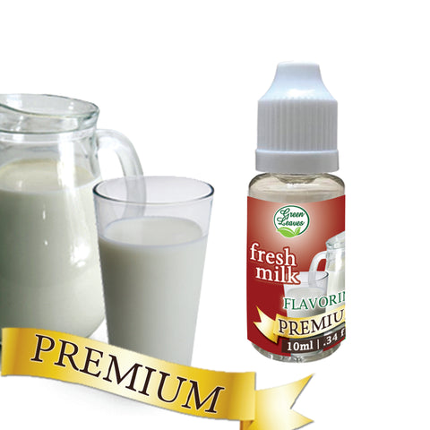Premium Green Leaves Fresh Milk Flavor