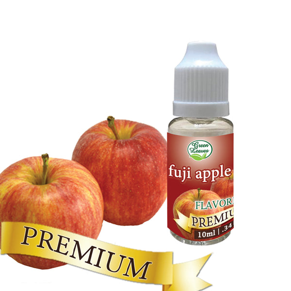 Premium Green Leaves Fuji Apple Flavor
