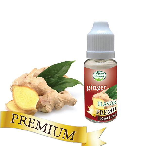 Premium Green Leaves Ginger Flavor