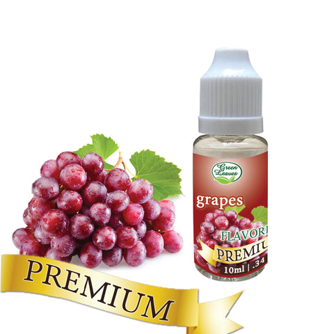 Premium Green Leaves Grapes Flavor