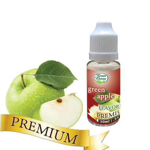Premium Green Leaves Green Apple Flavor